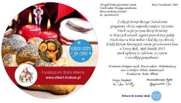 Boże Narodzenie 2014-Zarząd