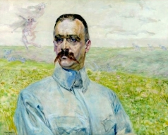 Malczewski_Brigadier_Józef_Piłsudski