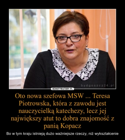Teresa Piotrowska-mem