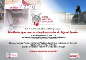 Manifestacja RKW